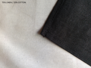 Blank 75% Linen /25% cotton tea towel