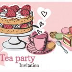 high tea part invitation